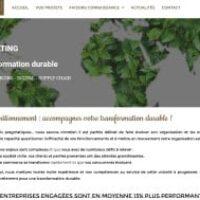 Lancement d'un nouveau site internet pour Sustainabeelity Consulting