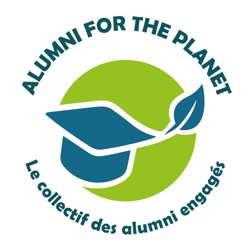 logo de l'initiative Alumni for the planet